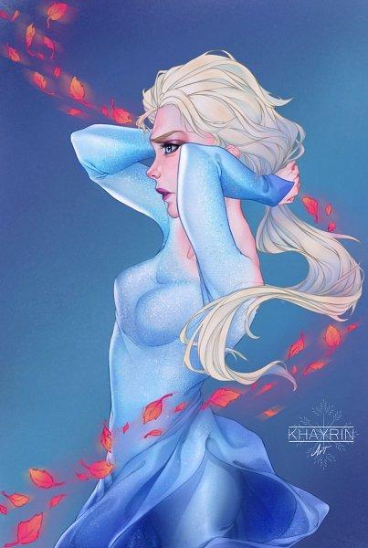 elsa the snow queen  frozen disney  image 2805177