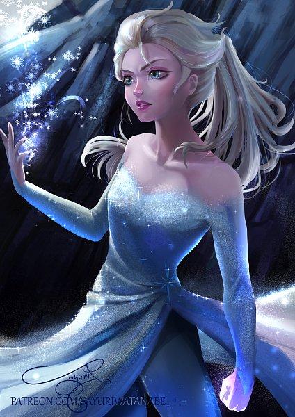 elsa the snow queen  frozen disney  image 2858747