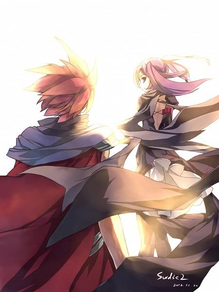 Tags: Anime, swd3e2, Elsword, Void Princess (Aisha), Aisha (Elsword), Lord Knight (Elsword), Elsword (Character), Pixiv, Fanart From Pixiv, Fanart
