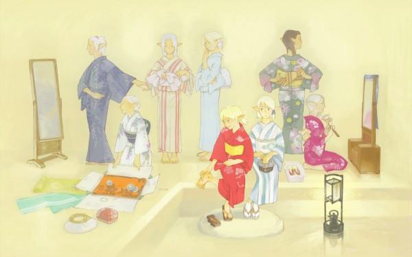 Tags: Anime, SQUARE ENIX, Final Fantasy XI, Elvaan, Wallpaper