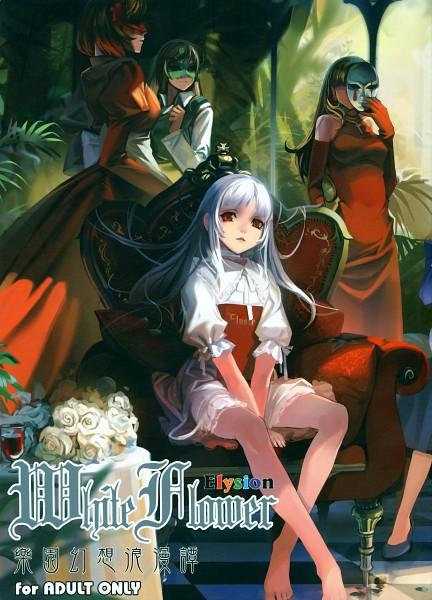 Tags: Anime, Alphonse, Sacri, Elice, Stella (Sound Horizon), Yield (Sound Horizon), Garden, Throne, Elysion (Sound Horizon), Mobile Wallpaper, Pixiv, Sound Horizon