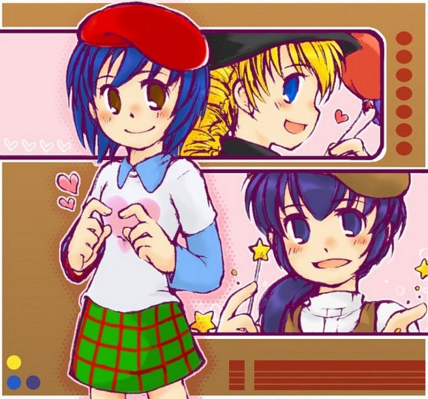 Tags: Anime, Dance Dance Revolution, Emi Toshiba, Alice Ip, Yuni Verse