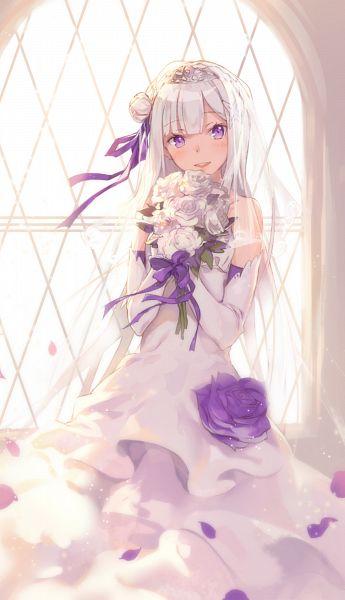 Tags: Anime, Shouin, Re:Zero Kara Hajimeru Isekai Seikatsu, Emilia (Re:Zero), Mobile Wallpaper