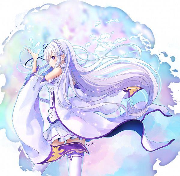 Tags: Anime, Dorris, Re:Zero Kara Hajimeru Isekai Seikatsu, Emilia (Re:Zero)