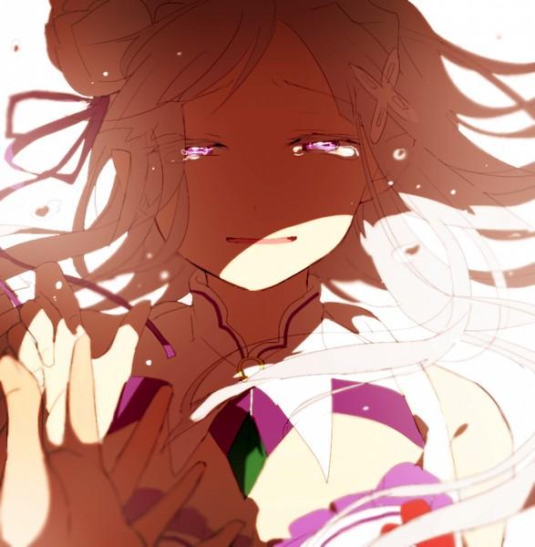 Tags: Anime, Misoan, Re:Zero Kara Hajimeru Isekai Seikatsu, Natsuki Subaru, Emilia (Re:Zero), Fanart, Fanart From Pixiv, Pixiv