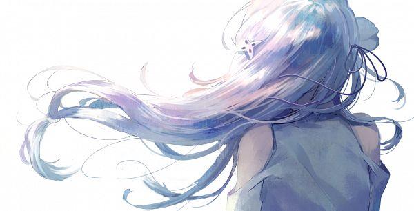 Tags: Anime, mebarunrun, Re:Zero Kara Hajimeru Isekai Seikatsu, Emilia (Re:Zero), Fanart From Pixiv, Pixiv, Fanart