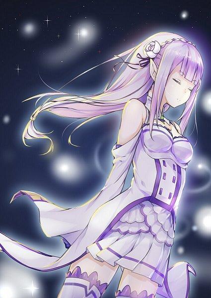 Tags: Anime, Pixiv Id 9726194, Re:Zero Kara Hajimeru Isekai Seikatsu, Emilia (Re:Zero), Fanart From Pixiv, Pixiv, Fanart