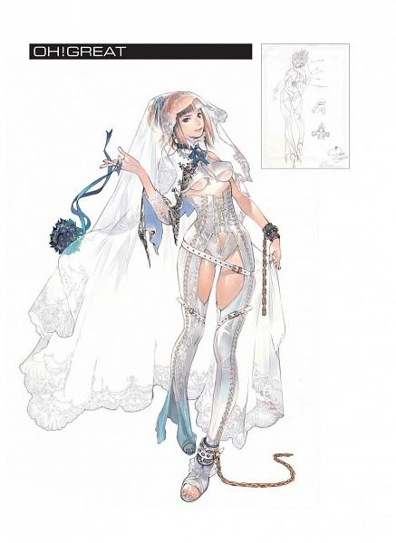 Tags: Anime, Oh! Great, Tekken, Emilie de Rochefort, Mobile Wallpaper