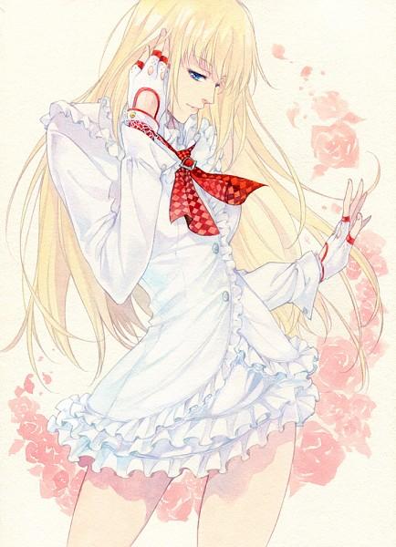 Tags: Anime, Agahari, Tekken, Emilie de Rochefort, Mobile Wallpaper, Traditional Media, Fanart From Pixiv, Pixiv, Fanart
