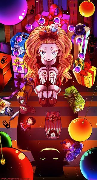 Tags: Anime, ShionMion, Pandora Hearts, Alice Baskerville, Emily (Pandora Hearts), Oz Vessalius, Gilbert Nightray, Fanart From DeviantART, Fanart, Mobile Wallpaper, deviantART