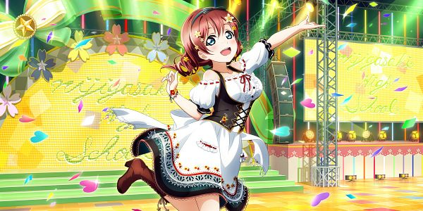Tags: Anime, KLab, Love Live! School Idol Festival ALL STARS, Emma Verde, Official Card Illustration, Official Art