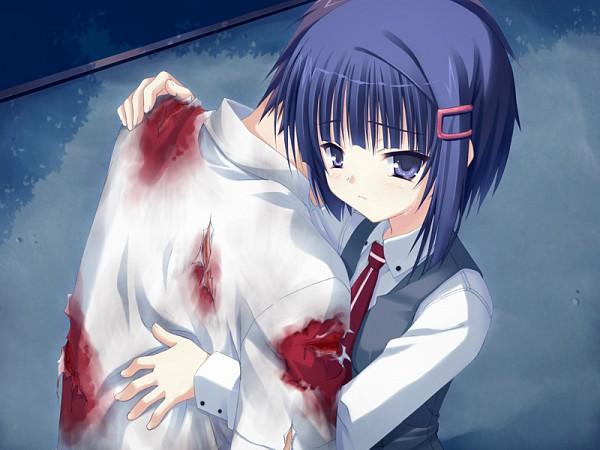 Tags: Anime, Kobuichi, Muririn, Yuzusoft, Empty x Embryo, Fushimi Touya, Nomiya Yu, CG Art
