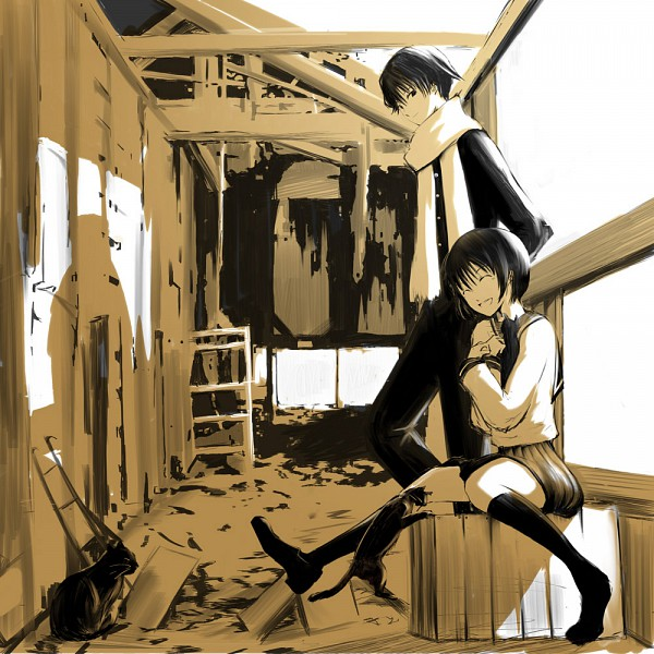 Tags: Anime, Emukami, Original, Pixiv