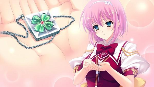 Tags: Anime, Satou Satoru, PeasSoft, Kimi wo Aogi Otome wa Hime ni, Enatsu Ayame, Wallpaper, CG Art
