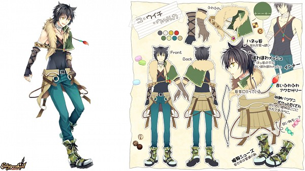 Tags: Anime, End Breaker!, Character Sheet, Facebook Cover, Character Request
