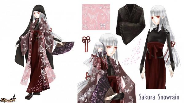 Tags: Anime, End Breaker!, Sakura Snowrain, Facebook Cover