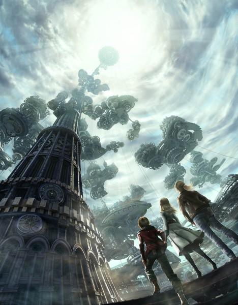 Tags: Anime, End of Eternity, Vashryon, Reanbell, Zephyr, Tower