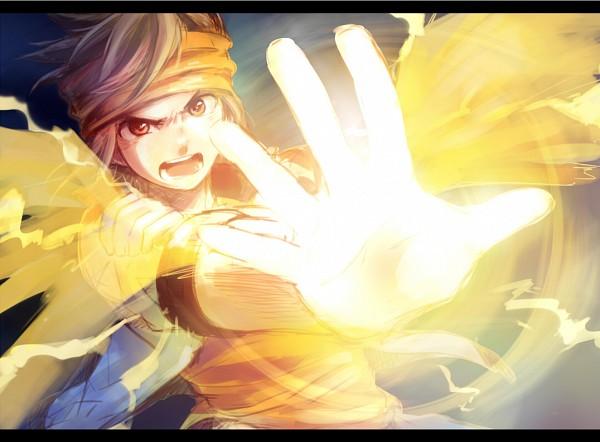Tags: Anime, Shichi Miko, Level-5, Inazuma Eleven GO, Inazuma Eleven, Endou Mamoru, Pixiv, Fanart From Pixiv, Fanart, Mark Evans