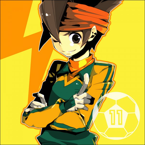Tags: Anime, Inazuma Eleven, Endou Mamoru, Fanart, Mark Evans