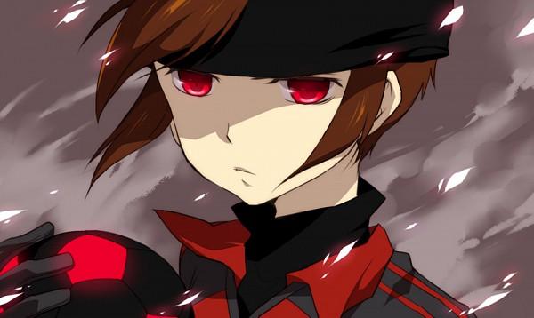 Tags: Anime, Buosu, Inazuma Eleven, Endou Mamoru, Dark Raimon, Fanart, Pixiv, Mark Evans