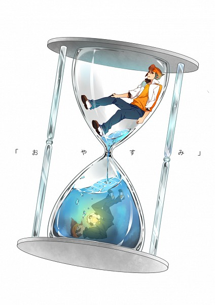 Tags: Anime, In Kai, Level-5, Inazuma Eleven GO, Inazuma Eleven, Endou Mamoru, Hourglass, Mobile Wallpaper, Mark Evans