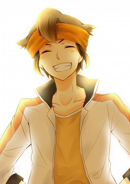 Tags: Anime, Pixiv Id 1619174, Inazuma Eleven, Inazuma Eleven GO, Endou Mamoru, Mobile Wallpaper, Mark Evans