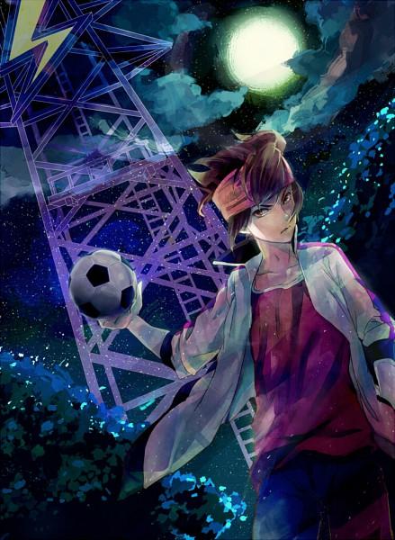 Tags: Anime, Haiko (Pixiv2170013), Inazuma Eleven, Endou Mamoru, Mark Evans