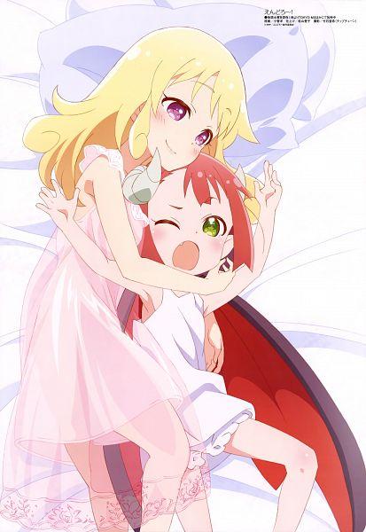 Tags: Anime, Studio Gokumi, Endro~!, Mao (Endro~!), Rona Pricipa O Rapanesta, Official Art, Scan
