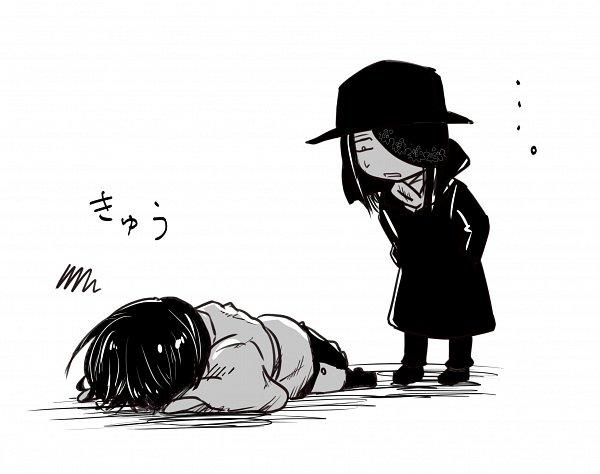 Tags: Anime, Pixiv Id 12605712, Enen no Shouboutai, Benimaru Shinmon (Enen no Shouboutai), Joker (Enen no Shouboutai), Pixiv, Fire Force