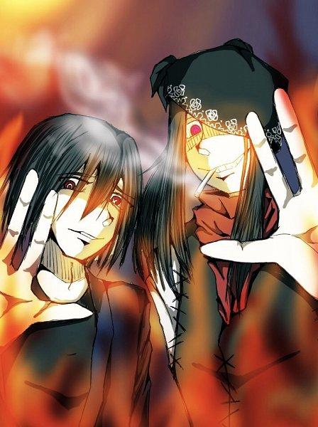 Tags: Anime, Pixiv Id 38401870, Enen no Shouboutai, Joker (Enen no Shouboutai), Benimaru Shinmon (Enen no Shouboutai), Fire Force