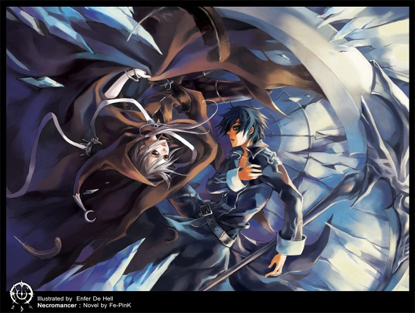 Tags: Anime, Enferdehell, deviantART, Original