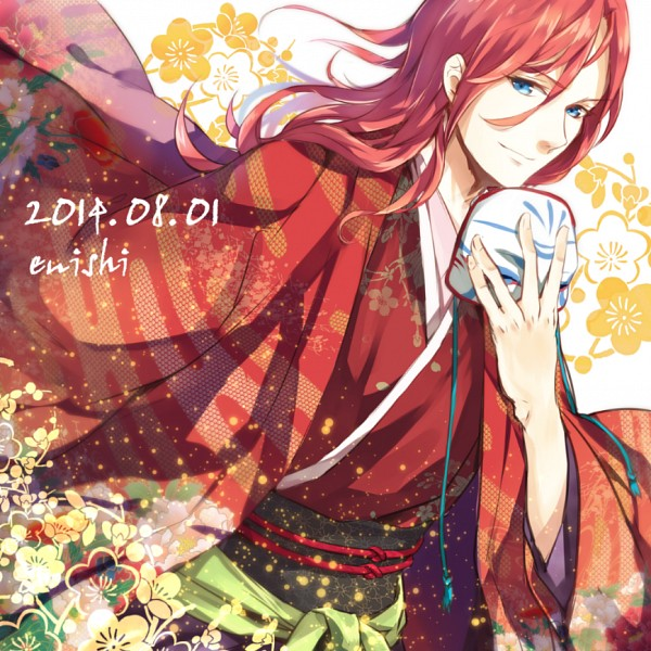 Tags: Anime, Pixiv Id 2350926, Ken ga Kimi, Enishi (Ken ga Kimi), Holding Mask, Fanart, Fanart From Pixiv, Pixiv
