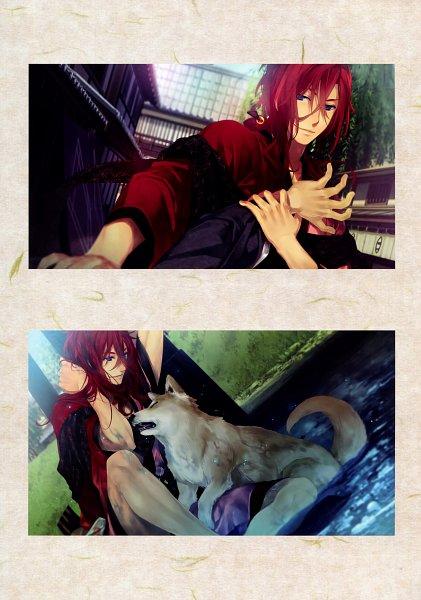 Tags: Anime, Yomi (Pixiv390297), Rejet, Ken ga Kimi Wafuu Denki Emaki, Ken ga Kimi, Enishi (Ken ga Kimi), Official Art, Scan