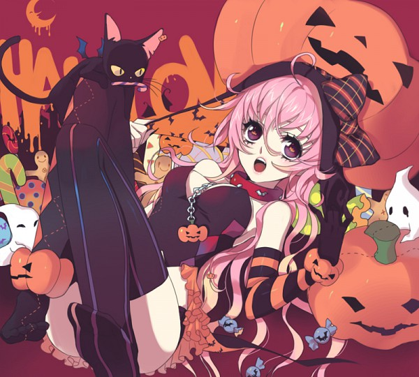 Tags: Anime, Enk, Gingerbread, Candy Cane, Pixiv