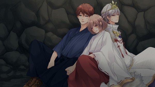 Tags: Anime, Gogo-chan, A'sRing, Enkan no Memoria, Kunikata Eita, Katsuki Ren, Katsuki Sayu (Enkan no Memoria), Official Art, CG Art