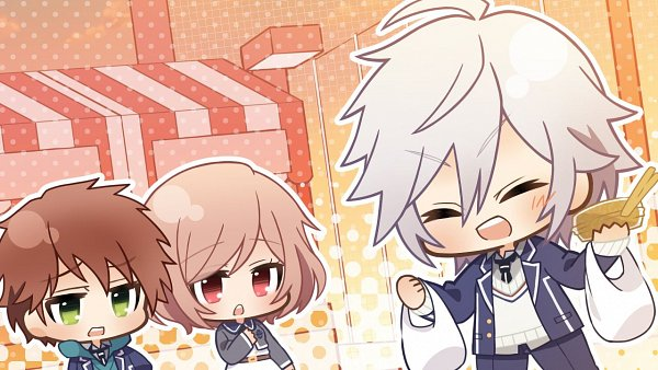 Tags: Anime, Gogo-chan, A'sRing, Enkan no Memoria, Kunikata Eita, Katsuki Ren, Katsuki Sayu (Enkan no Memoria), CG Art, Official Art