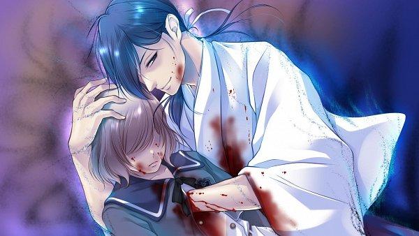 Tags: Anime, Gogo-chan, A'sRing, Enkan no Memoria, Katsuki Sayu (Enkan no Memoria), Katsuki Touma, Official Art, CG Art