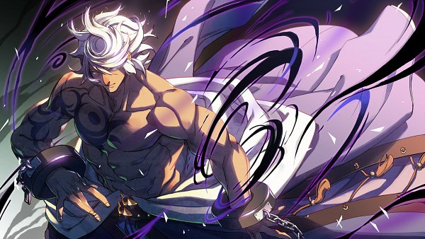 Tags: Anime, Under Night In-Birth, Enkidu (Under Night In-birth), Official Art