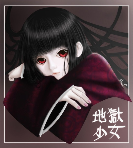 Tags: Anime, Jigoku Shoujo, Enma Ai