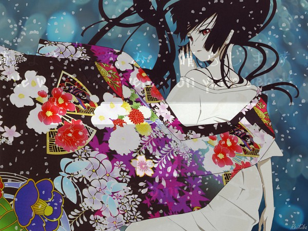 Tags: Anime, Jigoku Shoujo, Enma Ai, Wallpaper