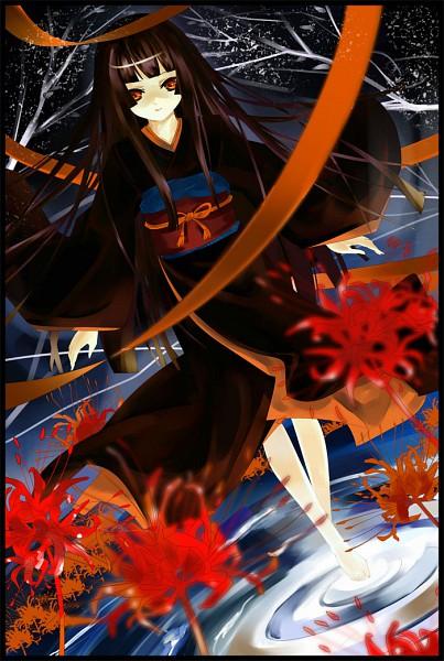 Tags: Anime, Tsurukame, Jigoku Shoujo, Enma Ai