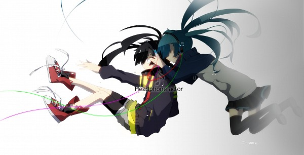 Tags: Anime, Kogeayane, Kagerou Project, Enomoto Takane, Converse, Song-Over, Fanart From Pixiv, Pixiv, PNG Conversion, Wallpaper, Facebook Cover, Fanart