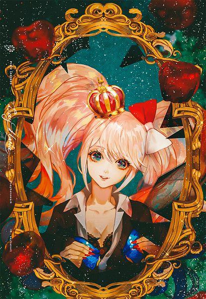 Tags: Anime, Say HANa, Danganronpa, Enoshima Junko, Mobile Wallpaper, Revision, Pixiv, Fanart, Fanart From Pixiv