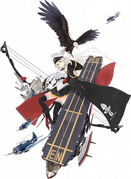Tags: Anime, Hao (Patinnko), Yostar, Azur Lane, Enterprise (Azur Lane), Official Art, Cover Image