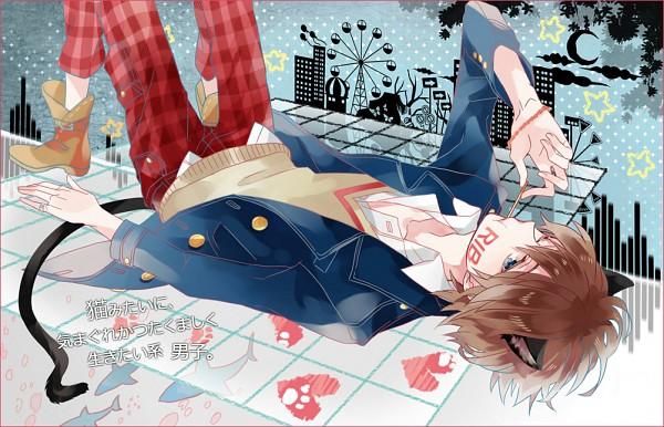 Tags: Anime, Michi (Iawei), Rib, Ferris Wheel, Fanart, Nico Nico Douga, Nico Nico Singer, Pixiv, Envy Catwalk