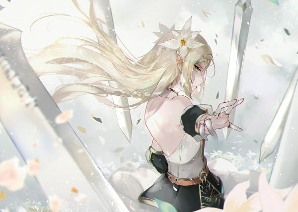 Tags: Anime, Vardan, Epic Seven, Character Request, Pixiv, Fanart, Fanart From Pixiv
