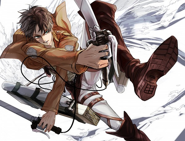 Tags: Anime, En (pixiv 1642655), Attack on Titan, Eren Jaeger, Pixiv, Fanart, Fanart From Pixiv, Eren Yeager