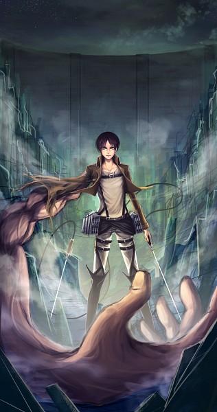 Tags: Anime, Pixiv Id 4297166, Attack on Titan, Eren Jaeger, Fanart, Fanart From Pixiv, Pixiv, Eren Yeager