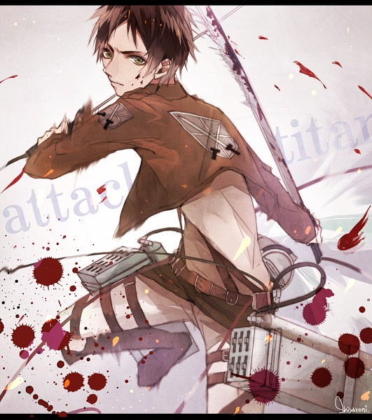 Tags: Anime, Pixiv Id 5132717, Attack on Titan, Eren Jaeger, Fanart, Fanart From Pixiv, Pixiv, Eren Yeager
