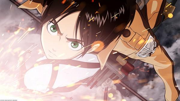 Tags: Anime, Attack on Titan, Eren Jaeger, Wallpaper, HD Wallpaper, Facebook Cover, Eren Yeager